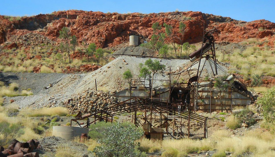 Historic Artisanal Ragged Hills Pb-Zn-Ag Mine operated up until 1959
