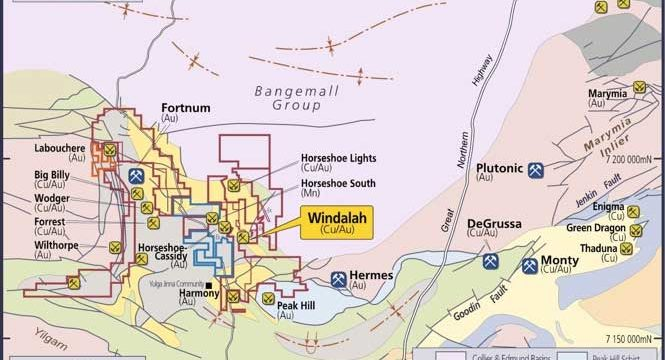 Bryah encounters high-grade gold from surface at Windalah