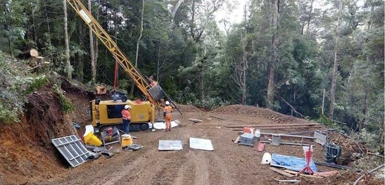 Venture drilling into significant tin target in Tasmania